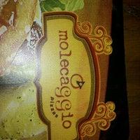 Foto tirada no(a) Molecaggio Pizzas por Daniel D. em 10/20/2012