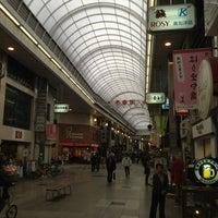 Photo taken at 帯屋町 壱番街 by Ry T. on 3/28/2013
