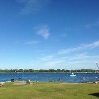 Photo taken at Waterfront Mary's Bar & Grill by Lisa P. on 8/9/2013