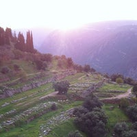 Photo taken at Archaeological Site of Delphi by J Z. on 12/17/2012