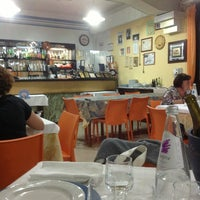 Photo taken at Osteria Del Pesce by Simone G. on 8/30/2013