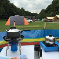 Photo taken at Hayfield Camping and Caravanning Club Site by Steven A. on 8/28/2016