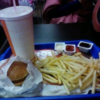 Photo taken at Burger King by Hivda A. on 11/3/2012