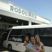 Photo taken at Estação Rodoviária de Rio Grande by Bolívar Z. on 11/25/2012