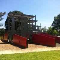 Photo taken at Carlton Gardens' Playground by Chris W. on 10/28/2012