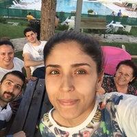 Photo taken at Sumerpark Evleri Havuzbasi by BLG S. on 6/23/2016