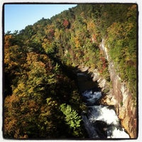 Photo taken at Tallulah Gorge State Park by Dan S. on 10/19/2012