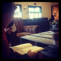 Photo taken at Land of a Thousand Hills Coffee House by Dan S. on 4/18/2013