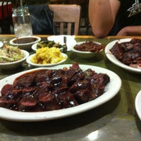 Photo taken at Everett & Jones Barbeque by Michelle M. on 11/26/2012