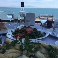 Photo taken at mavi kum restaurant by K.OguZ Ç. on 4/2/2016