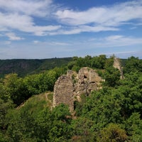 Photo taken at Zřícenina hradu Templštejn by David on 7/23/2017