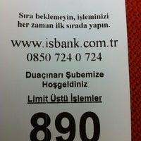Photo taken at Türkiye İş Bankası by Yalçın✔ on 8/21/2013
