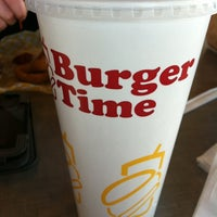 Photo taken at Burger Time by Jennifer A. on 3/6/2013