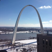 Photo taken at Gateway Arch by Ty on 2/3/2013