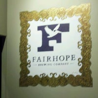 Photo taken at Fairhope Brewing Company by Curtis F. on 2/2/2013