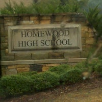 Photo taken at Homewood High School by Curtis F. on 3/11/2013