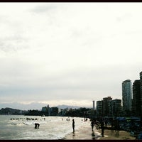 Photo taken at Benidorm West Beach by Coento S. on 7/28/2013