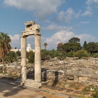 Photo taken at Ancient Agora by Η . on 4/13/2017