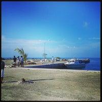 Photo taken at Nilandhoo Jetty by Maann S. on 2/6/2013