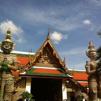 Photo taken at Temple of the Emerald Buddha by Александр on 6/19/2013