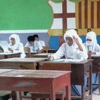Photo taken at SMA Negeri I Arjasa by Ayaxs A. on 4/15/2013