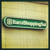 Foto tirada no(a) BarraShoppingSul por Nanda M. em 1/1/2013