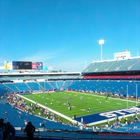 Photo taken at New Era Field by Kiyoshi K. on 10/1/2013