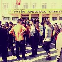 Photo taken at Kozan Fatih Anadolu Lisesi by Duygy Y. on 2/10/2017