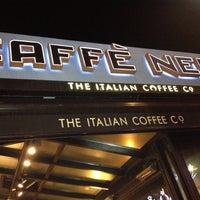 Photo taken at Caffè Nero by ömer A. on 10/26/2012