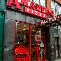Photo taken at Famous Amadeus Pizza - Madison Square Garden by Famous Amadeus Pizza - Madison Square Garden on 2/7/2017