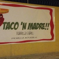 Photo taken at Taco'n Madre by Cesar P. on 3/14/2013