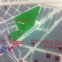 Photo taken at Metro Popotla (Línea 2) by Roberto L. on 7/18/2014