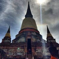 Photo taken at Phra Nakhon Si Ayutthaya by Gingkoy S. on 7/31/2014