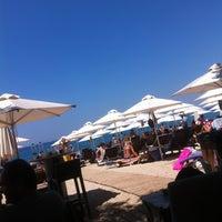 Photo taken at Ακτή του Ήλιου by Virgo on 6/23/2013