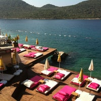 Photo taken at Kaş Marin Hotel Restorant by MdhMhmt on 7/12/2013