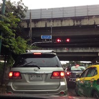 Photo taken at Pradiphat Intersection by Chawalit W. on 8/3/2017