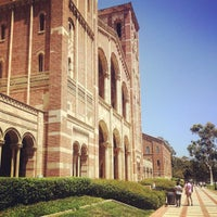 Photo taken at UCLA Rolfe Hall by gno m. on 8/11/2016