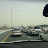 Photo taken at Sheikh Mohammed Bin Zayed Rd by Dina A. on 6/29/2013