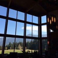 Photo taken at Skamania Lodge by Billy B. on 10/30/2013