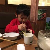 Photo taken at しゃぶしゃぶ温野菜 センター北店 by Kiyoshi Y. on 2/28/2016