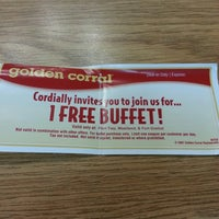 Photo taken at Golden Corral by Josh on 2/22/2014