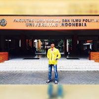 Photo taken at Fakultas Ilmu Sosial dan Ilmu Politik (FISIP) by Aldi R. on 11/13/2014