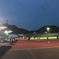 Photo taken at Surakul Sports Stadium by Ladygreen K. on 7/17/2017
