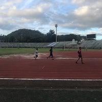 Photo taken at Surakul Sports Stadium by Ladygreen K. on 5/12/2017