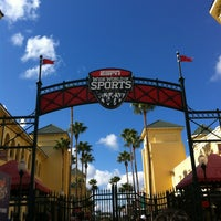 Photo taken at ESPN Wide World of Sports Complex by Sara R. on 1/12/2013