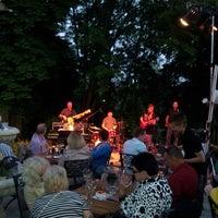 Photo taken at Kavarna Dvor Tacen by Denis S. on 6/14/2013