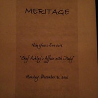 Photo taken at Meritage by Lauryl A. on 1/1/2013
