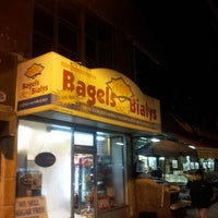 Photo taken at Hot Bagels & Bialys by **Heath** on 1/21/2013