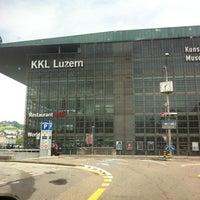 Photo taken at KKL Luzern by Christian B. on 5/25/2013