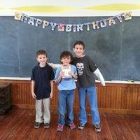 Photo taken at Pfeiffer Corner Schoolhouse by Lauren E. on 12/14/2013
